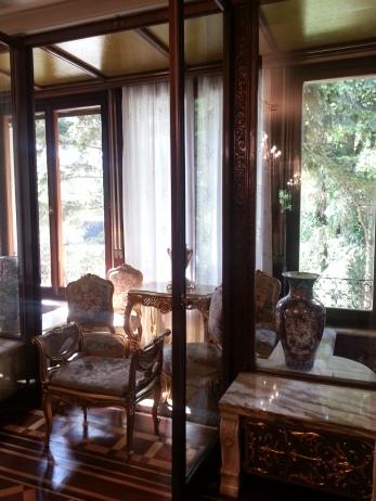 Palatul Primăverii - verandă