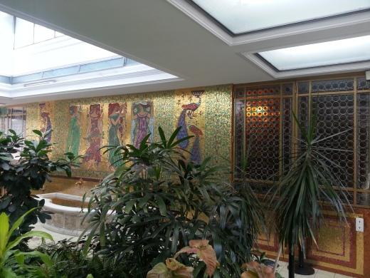 Palatul Primăverii - mozaic