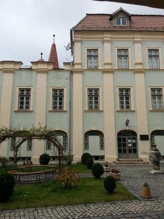 Brukenthal - curte interioară