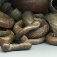 Manillas - money bracelet - Museo delle Culture, Milano, Italy