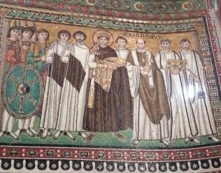 Ravenna - San Vitale - Iustinian