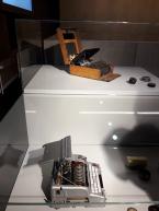 Code typewriters_SpyMuseumBerlin