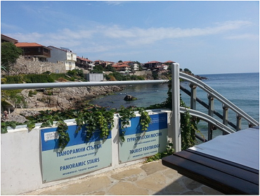 Panoramic stairs - Sozopol, Bulgaria