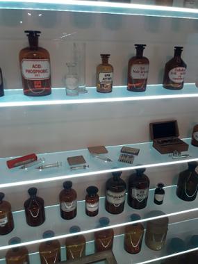 Substanțe otrăvitoare - Muzeul Spionajului, Berlin