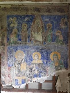"""Memorialul """"Nicolae Bălcescu"""" - biserică, detaliu frescă, sec. XIX"""