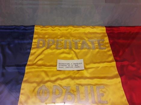 """Steag 1848 - Memorialul """"Nicolae Bălcescu"""""""