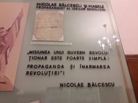 """Memorialul """"Nicolae Bălcescu"""" - Expoziție Nicolae Bălcescu"""