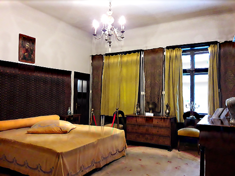 Casa-Memoriala-George-Enescu-Sinaia-dormitor-Maria-Cantacuzino