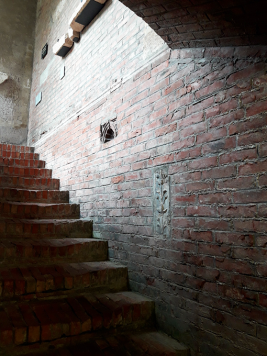 Tomba di GIulietta - scară