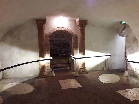 Tomba di Giulietta - cripta