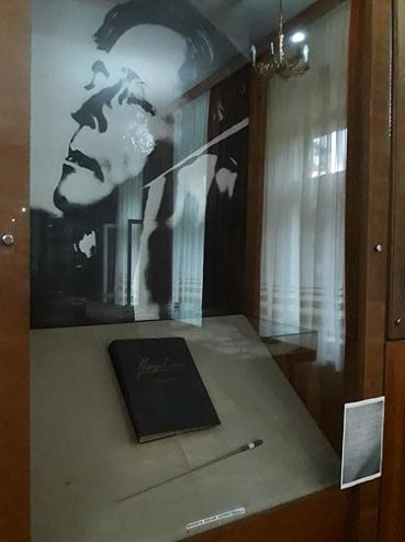 Bagheta de dirijor a lui George Enescu - Tescani