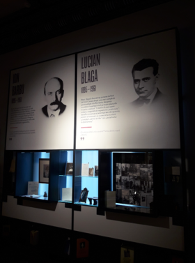 Blaga_Barbu_Muzeul-Literaturii-Bucuresti